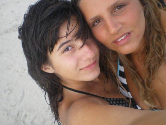 Celine and me in Italia...