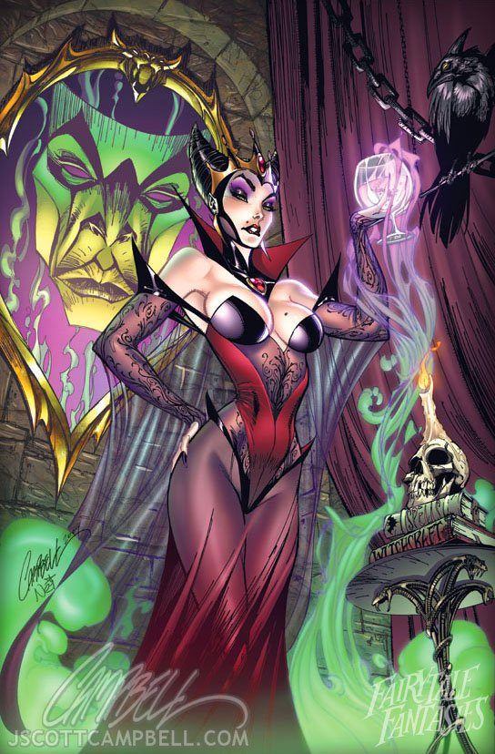 La Méchante reine troo sexy ell aussi !