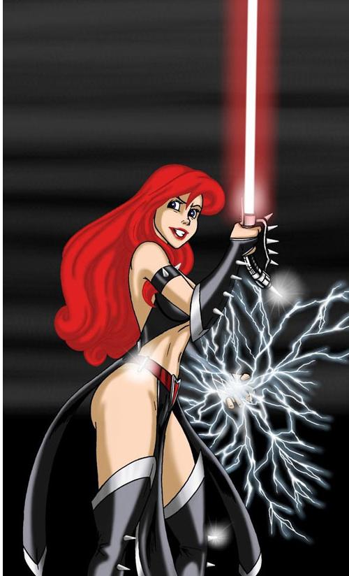 Ariel du côté obscur de la force