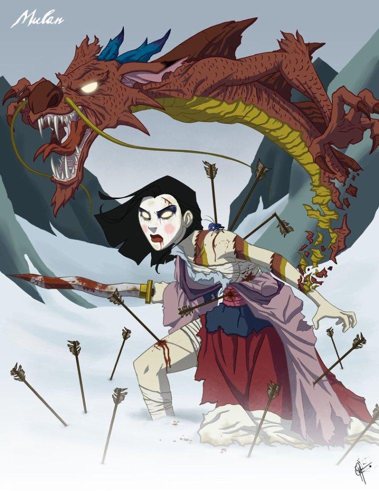 Mulan version zombie