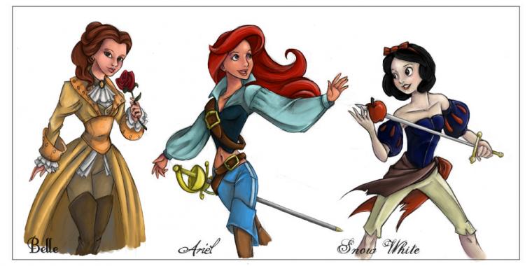 Les princesses pirates !