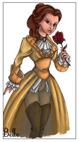Belle en pirate