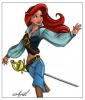 Ariel pirate
