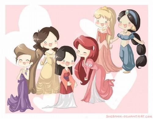 princesses Mangas