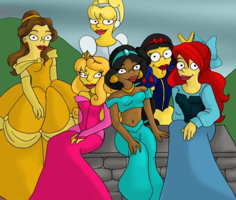 Les Princesses Simpsons