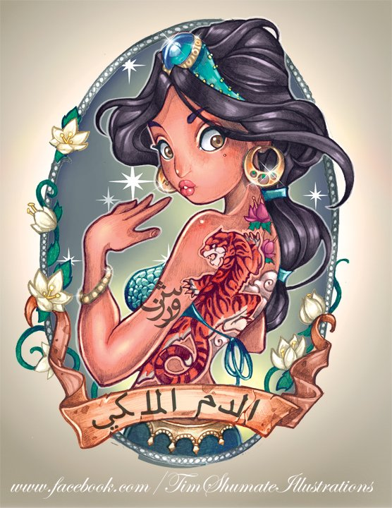 Jasmine Tatouée