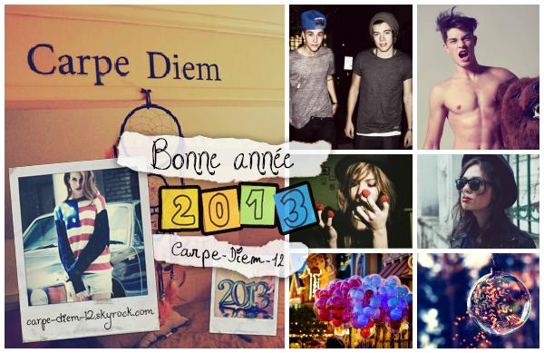 2013: Nouvelle année, Nouveau départ...