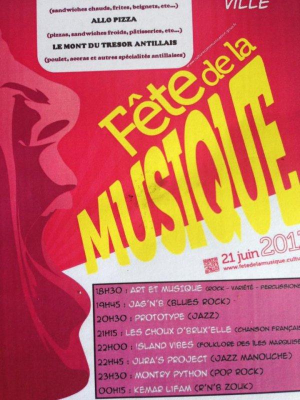 Concert Kemarl1fam fete de la musique