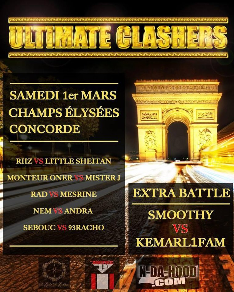 Ultimate clashers 1er mars.