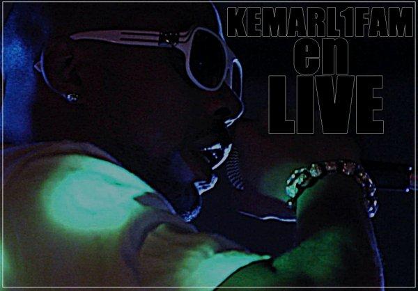 "Nouvel album "" Kemarl1fam en live """