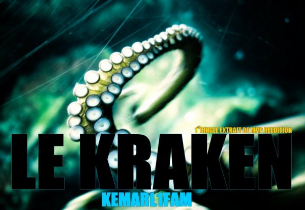 pochette officiel single le kraken