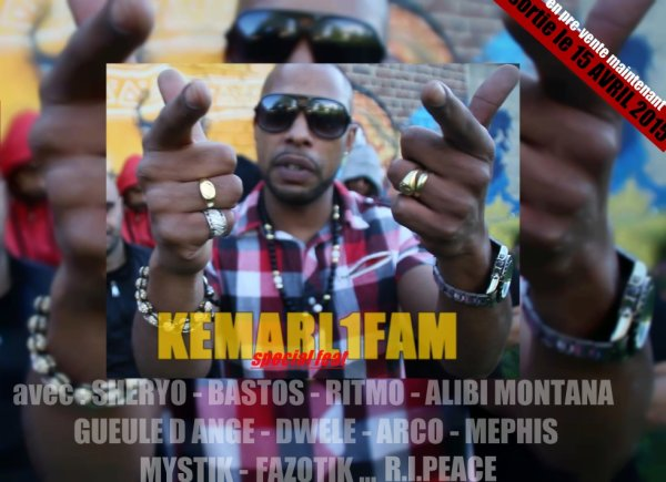 KEMARL1FAM - SPECİAL FEAT sortie le 15 avril 2015