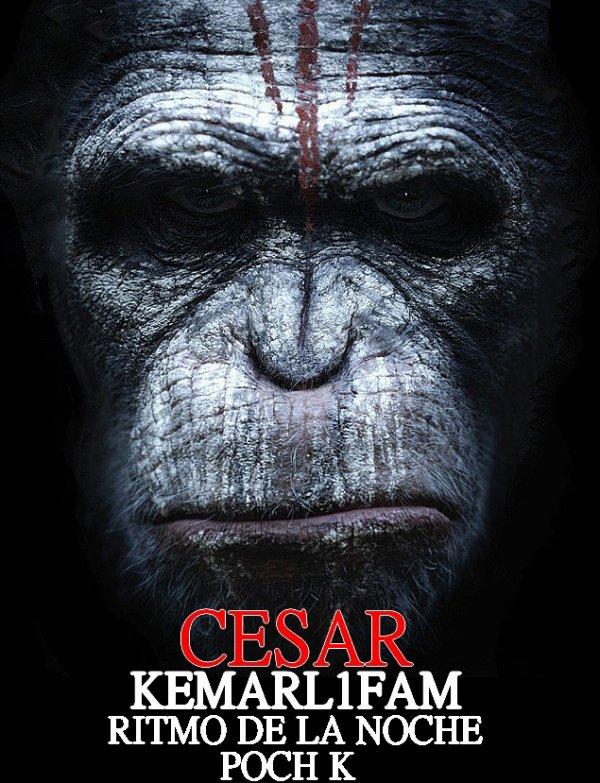 image officiel du morceau César de Kemarl1fam feat Ritmo et Poch k