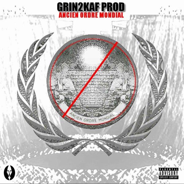 Pochette officiel de la mixe tape ancien ordre mondiale rap du bien vs rap du mal