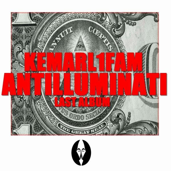 voici la pochette officiel de mon dernier album ANTILLUMINATI