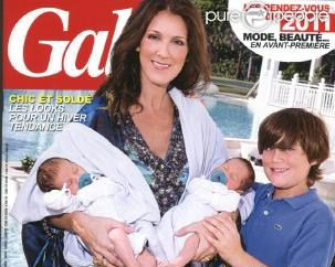 celine avec ses enfants