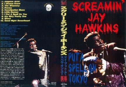 "SCREAMIN' JAY HAWKINS - ""PUT A SPELL ON TOKYO"" (1990)"