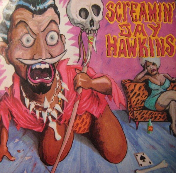 "SCREAMIN' JAY HAWKINS - ""AT HOME WITH JAY IN THE WEE WEE HOURS"" (1988)"