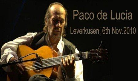 PACO DE LUCIA - LIVE AT LEVERKUSENER JAZZSTAGE 2010