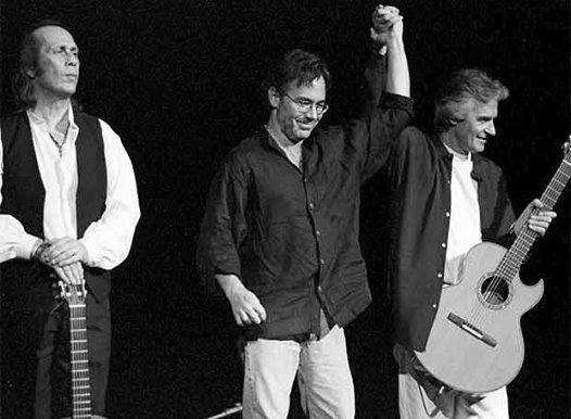 PACO DE LUCIA, AL DI MEOLA & JOHN Mc LAUGHLIN
