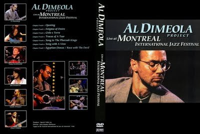 AL DI MEOLA PROJECT - LIVE - MONTREAL INTERNATIONAL JAZZ FESTIVAL (1988)