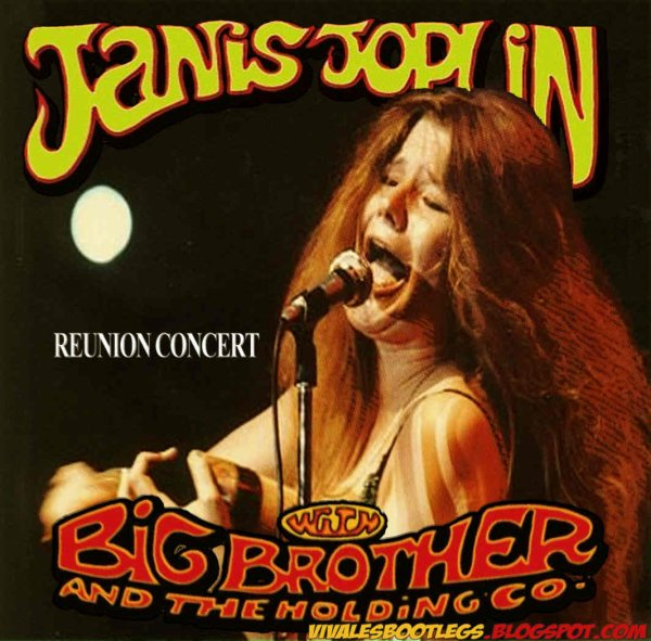 "JANIS JOPLIN BIG BROTHER & THE HOLDING COMPANY - ""REUNION CONCERT"" (1970)"