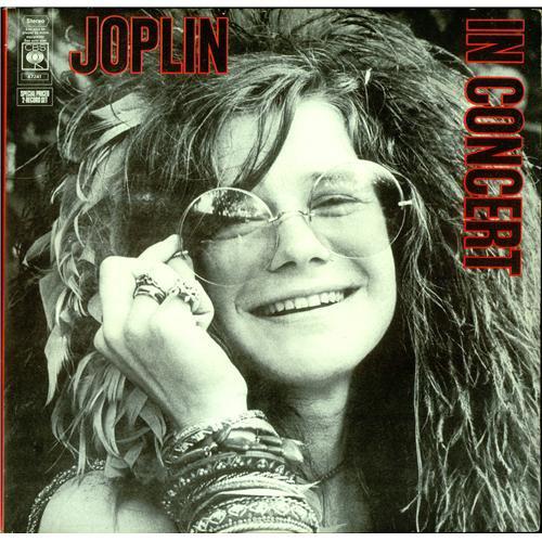 "JANIS JOPLIN - ""IN CONCERT"" (1968 / 1970)"