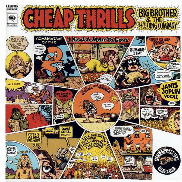 "JANIS JOPLIN - ""CHEAP THRILLS"" (1968)"