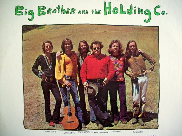 "BIG BROTHER AND THE HOLDING COMPANY - ""BE A BROTHER"" (1970)"