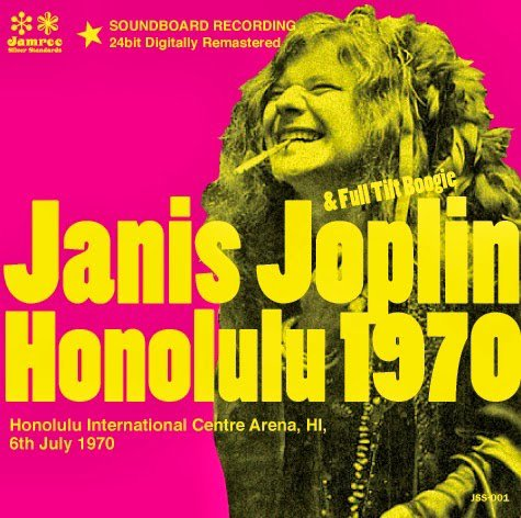 "JANIS JOPLIN & THE FULL TILT BOOGIE BAND -  ""HONOLULU BOOGIE"" (1970)"