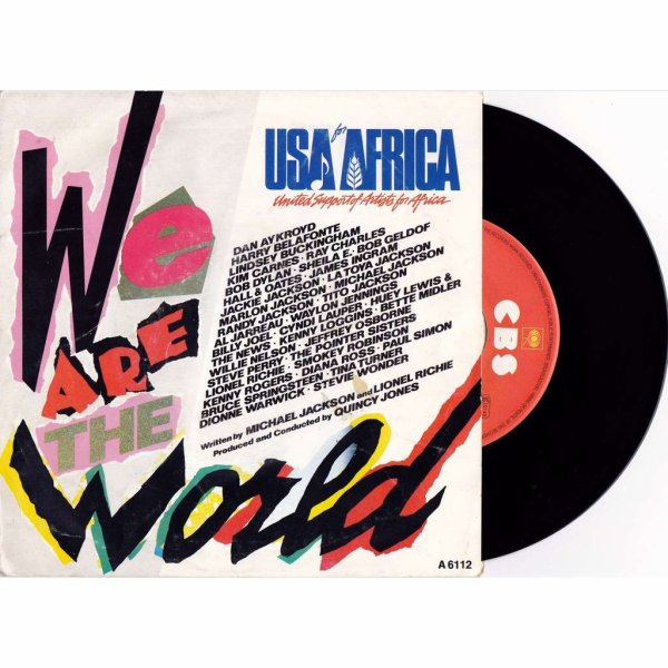 """USA FOR AFRICA - """"WE ARE THE WORLD"""" (1984)"""