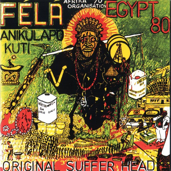 """FELA - """"ORIGINAL SUFFER HEAD"""" (1984)"""