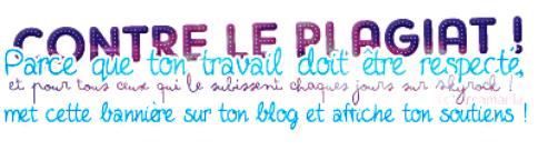 Bienvenue sur not'e blog ! Nos p'tites regles.