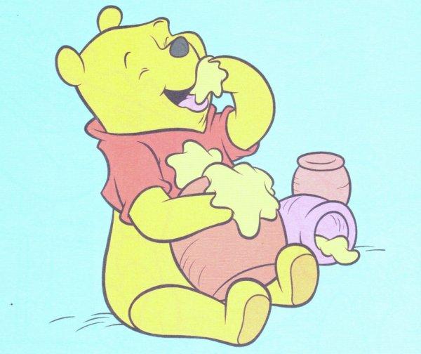 Winnie l ourson a fêté ces 86ans ce mois ci!!! <3