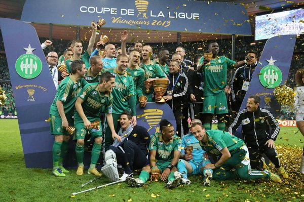 ASSE remporte la coupe de la ligue