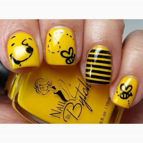 Nail art ongles magnifique décorés