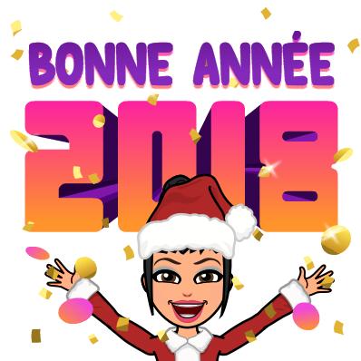 Meilleurs voeux pr cet année 2018 à + Eve