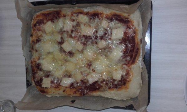 Une première réalisé ma propre pizza