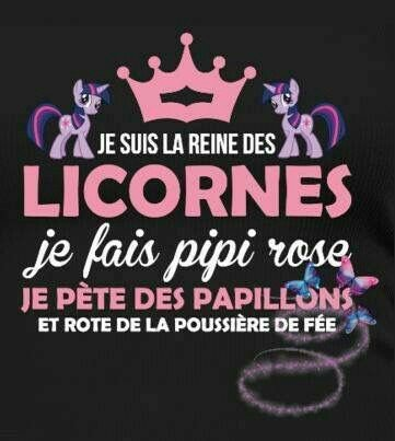 Licorne citation marrante