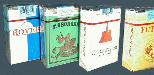 Les cigarettes aux chocolats une tuerie miam miam