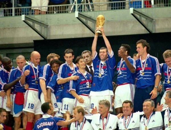Football France 98 champion du monde