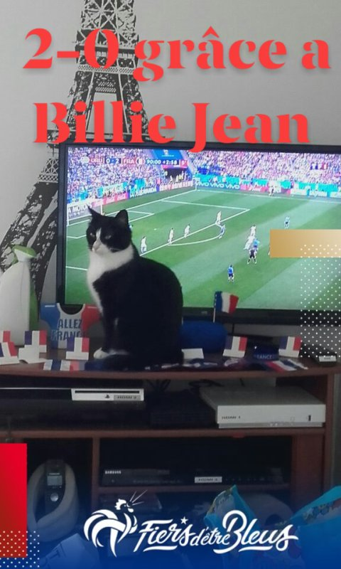 Billie Jean aime le foot