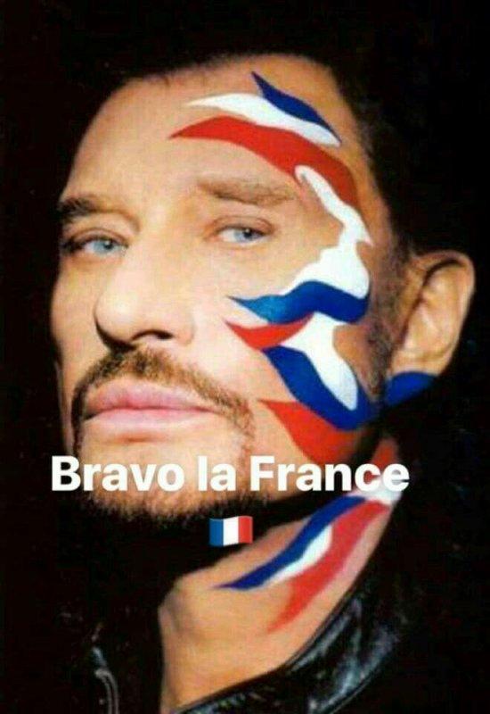 Bravo la France championne du monde en foot