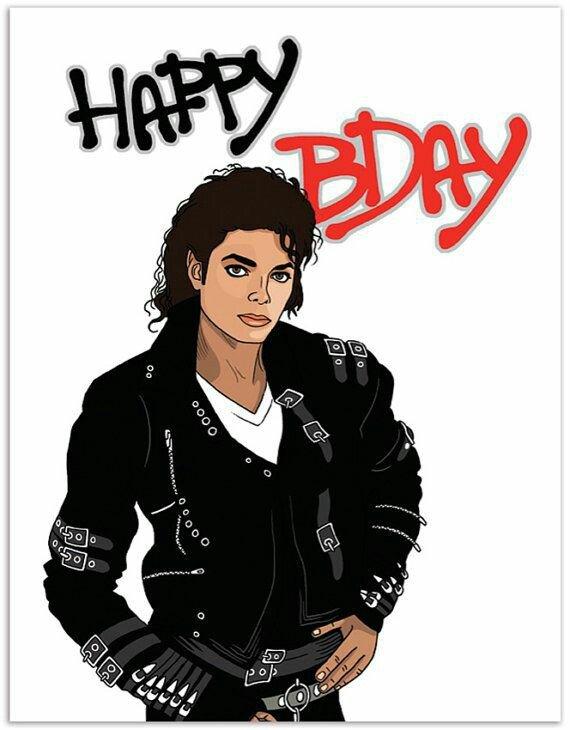 Joyeux anniversaire mon idole Michael Jackson 😍😍😘