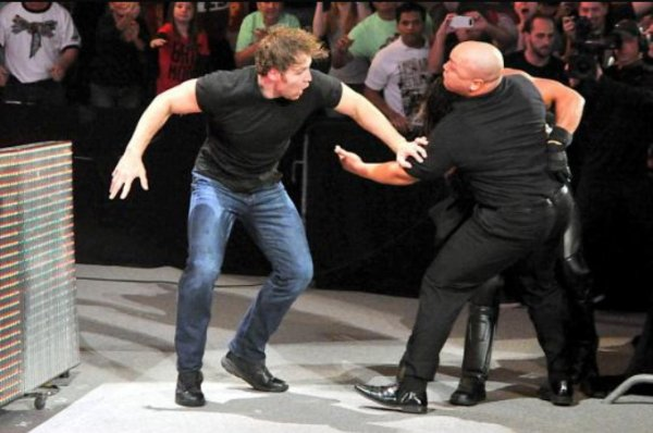 NOC: Dean Ambrose answers the open challenge.
