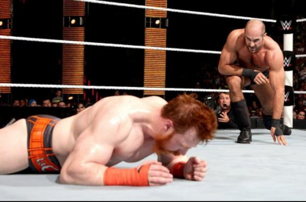 NOC: Sheamus still The United States Champion.
