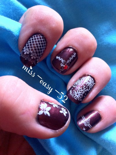 vive le Nail Art Stamping