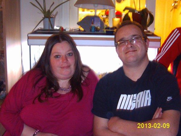 mon cousin sebastien avec sa femme