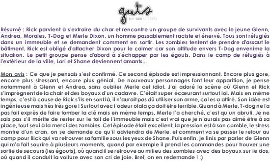 GUTS | tripes _