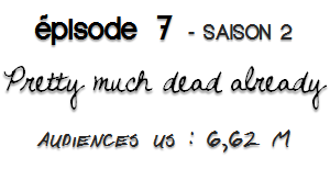 PRETTY MUCH DEAD ALREADY | déjà plus ou moins mort _
